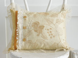 Sheer Mix Pillow by Linda Lee