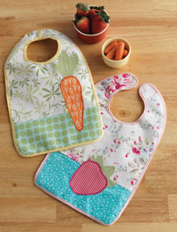 Simple Sewing Projects: Springtime Bibs