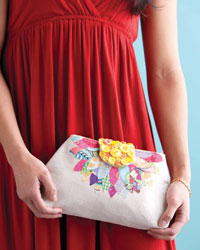 Simple Sewing Projects: Pretty Petals Clutch