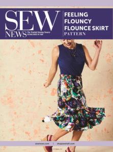 Sew News - Feeling Flouncy Flounce Skirt Pattern