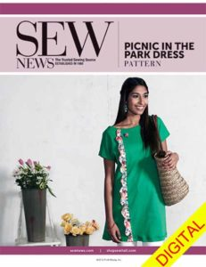 Sew News - Panic in the Park Dress Pattern
