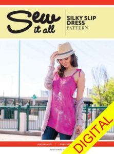 Sew News - Sew it All, Silky Slip Dress Pattern