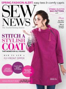 Sew News - Stitch a Stylish Coat Pattern