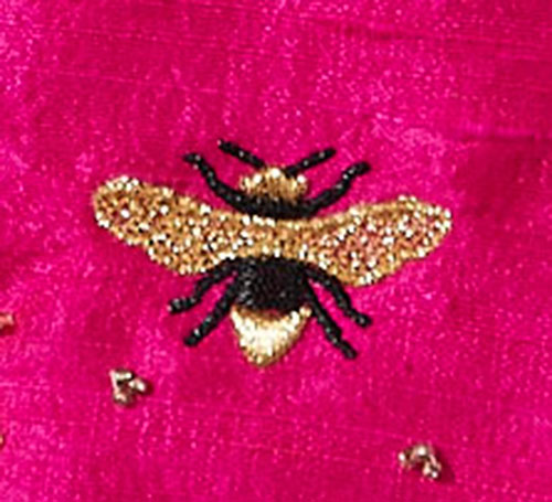Irresistible Insects Embroidery Design Bee