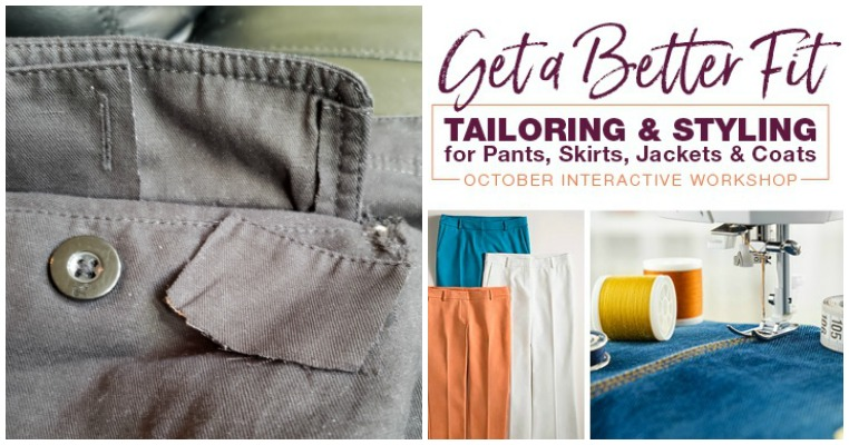 Sewing Repairs And Refits With Rae Cumbie Tips And More Sew Daily