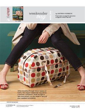 Weekender BagSew Daily