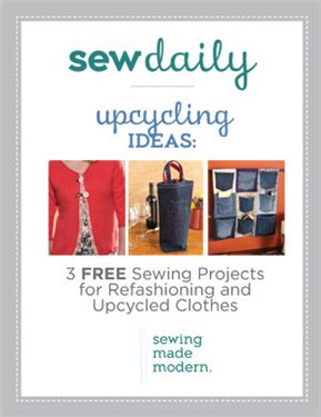 Free sewing projects for upcycling sew daily Upcycling for beginners