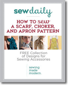 Download your free eBook to get all four accessory sewing patterns!