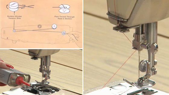 Three Part Video on How to Use a Sewing Machine