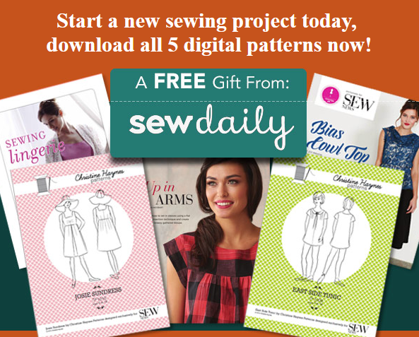 Free Sew Daily Pattern Pack Bundle