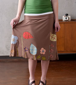 Jersey Garden Skirt from Sew Liberated.