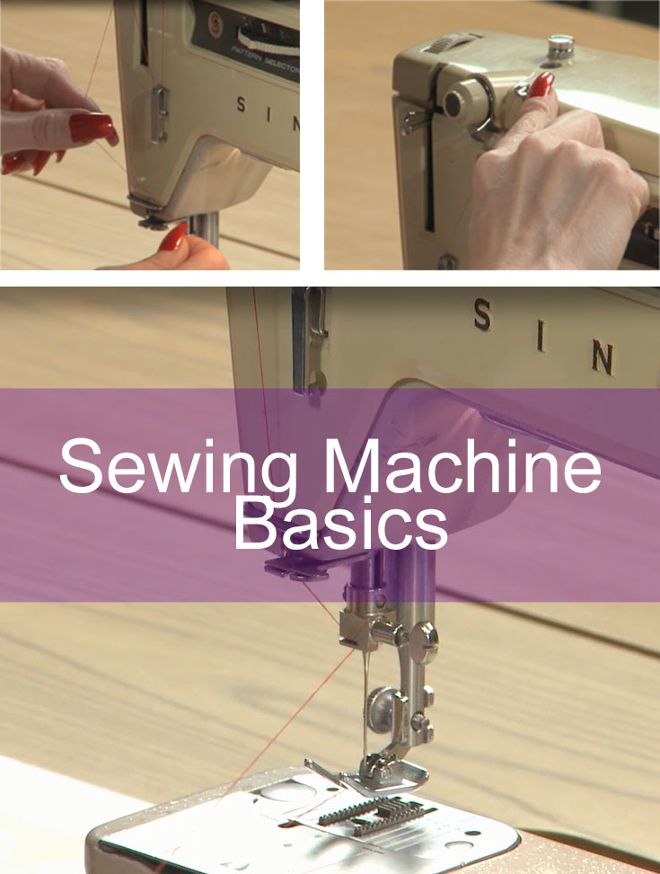 Free Videos on Sewing Machine Basics