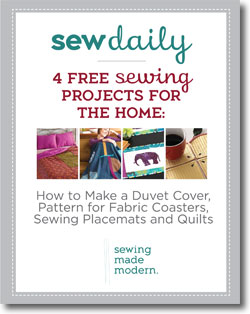 Learn sewing projects for the home