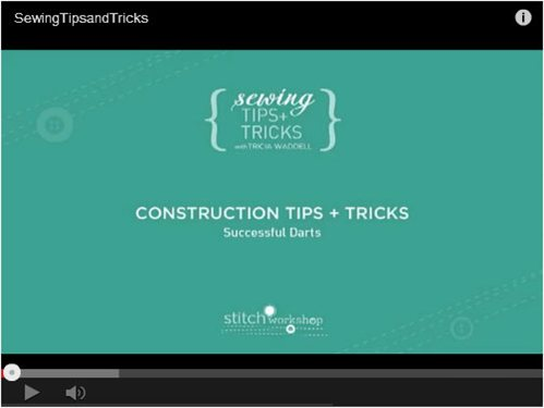 Sewing machine basics and construction tips tricks free for Construction tips and tricks